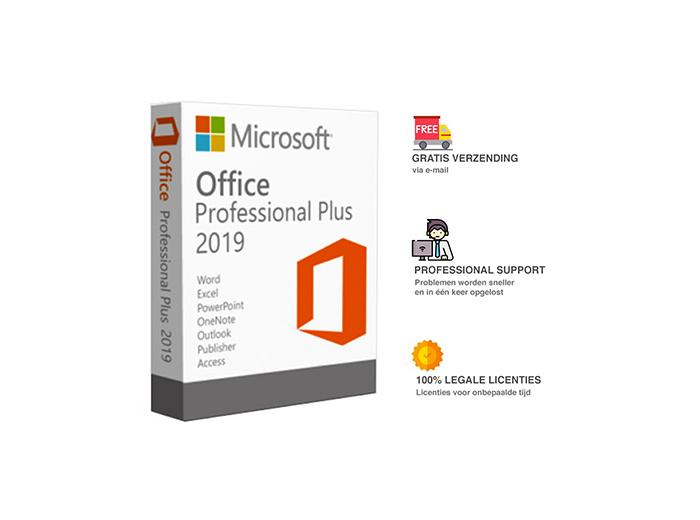 Korting Microsoft Office 2019 levenslange licentie, inclusief trainingen
