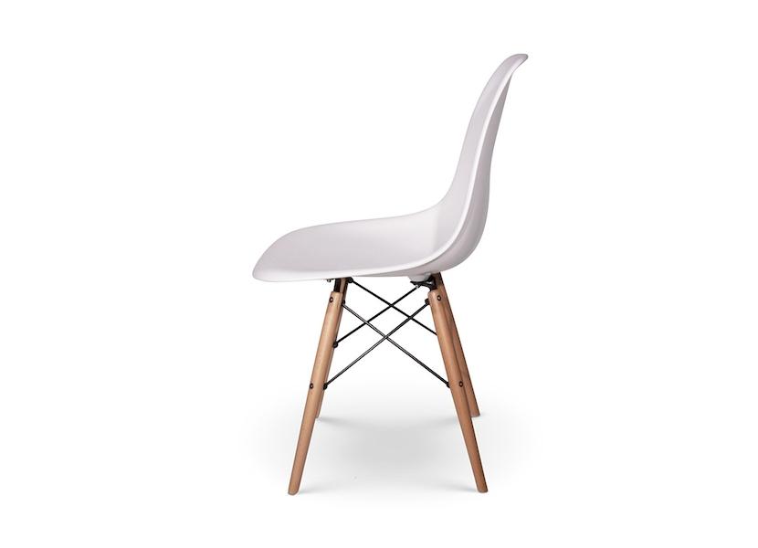 Eetkamerstoelen Designstoel Dsw Plastic Wit.Dsw Designstoel Wit