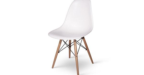 Dsw designstoel met korting for Design eetkamerstoelen wit