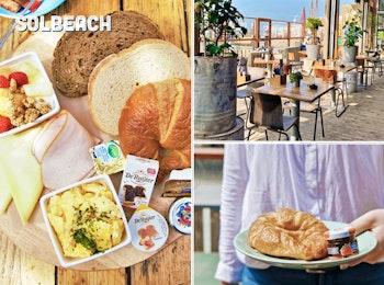Begin je dag goed met een uitgebreid ontbijt bij Solbeach Scheveningen