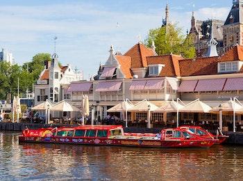 Ontdek Amsterdam per boot en bus met deze Hop on Hop off Tour