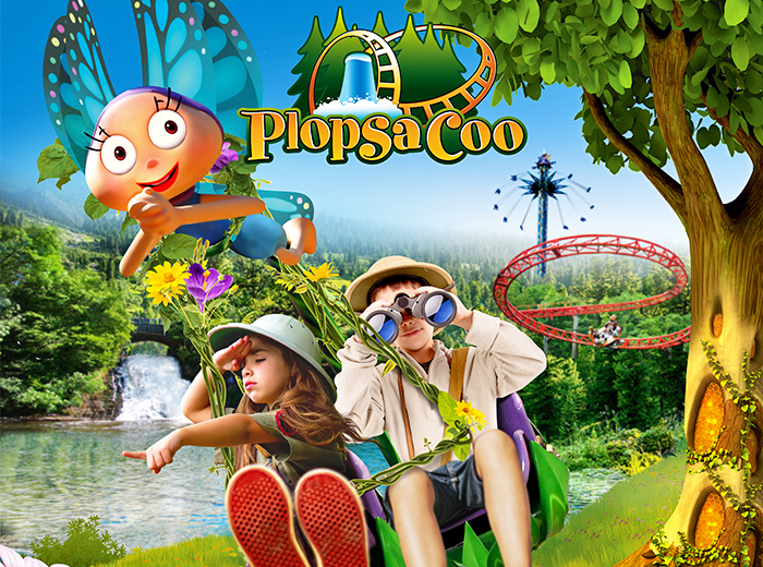 Korting Avontuurlijke attracties in een natuurdecor bij Plopsa Coo