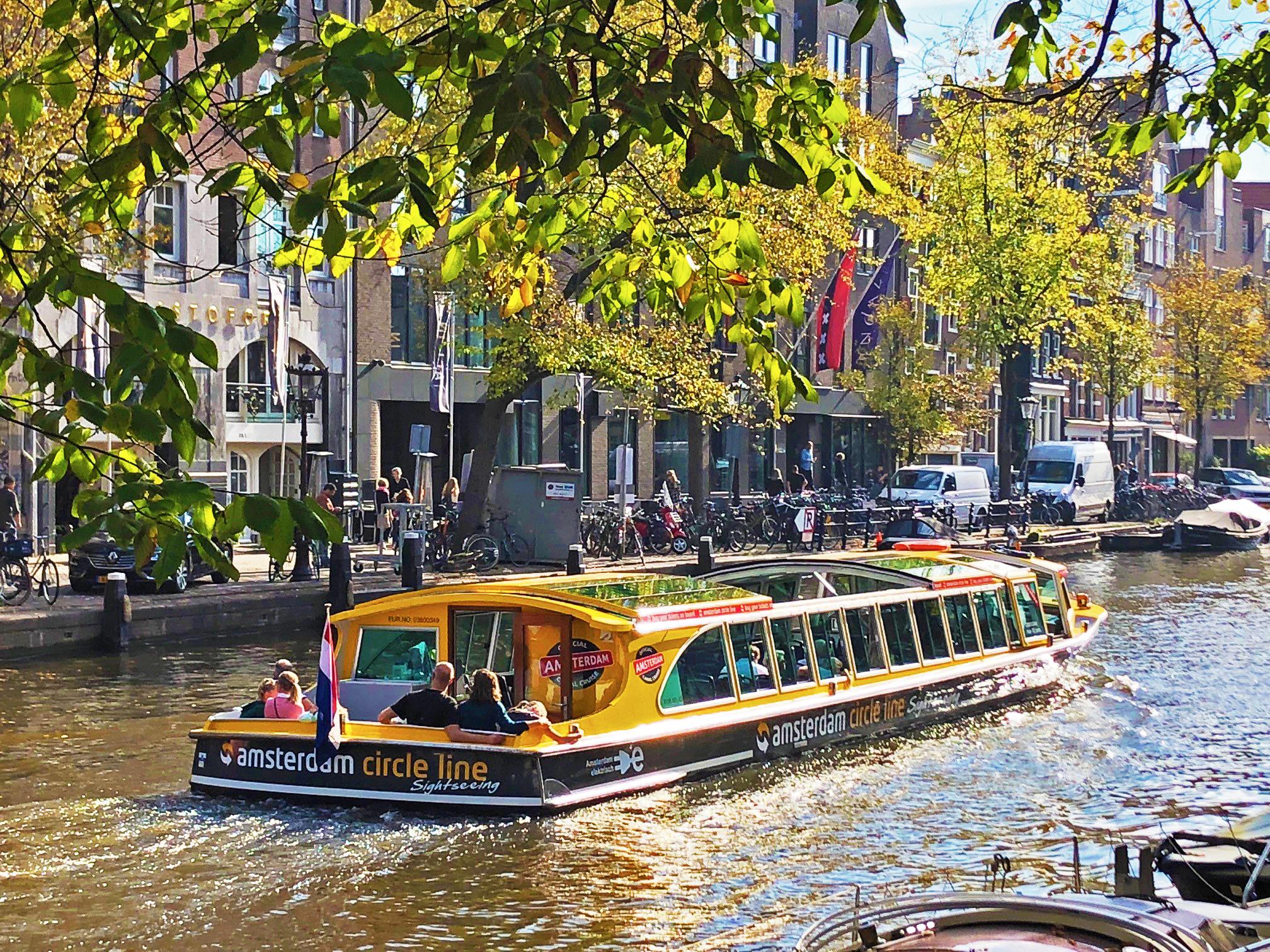 Korting Rondvaart door Amsterdam