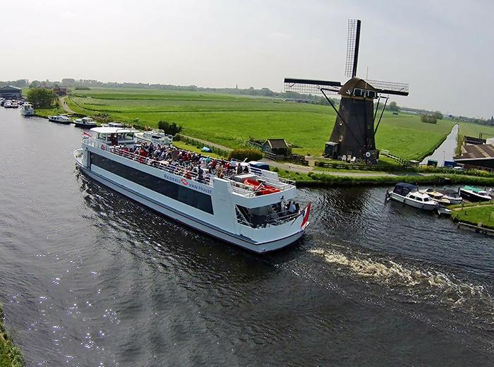 Korting Geniet van een prachtige rondvaart door het Groene Hart Leiden