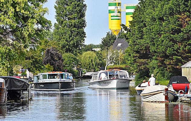 Geniet van een de Nieuwe-Haringvaart vanuit Katwijk of Leiderdorp