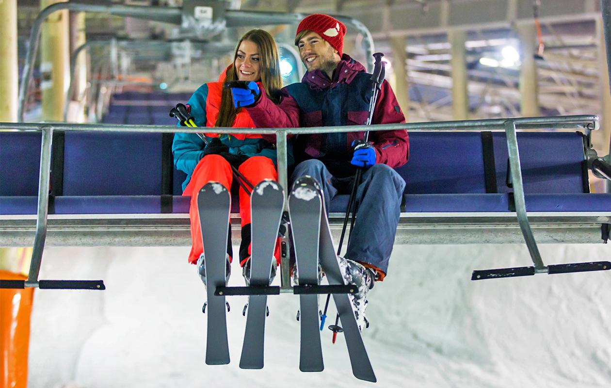 Korting Ski arrangement incl. apfelstrudel en tafelBBQ bij SnowWorld Zoetermeer