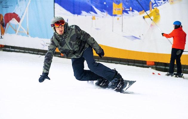 Ski arrangement incl. apfelstrudel en tafelBBQ bij SnowWorld Zoetermeer