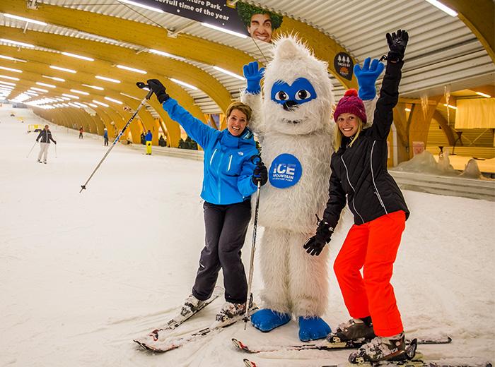 Korting Skiën of snowboarden bij Ice Mountain Adventure Park