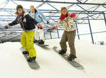 Skiën of snowboarden bij Montana Snowcenter