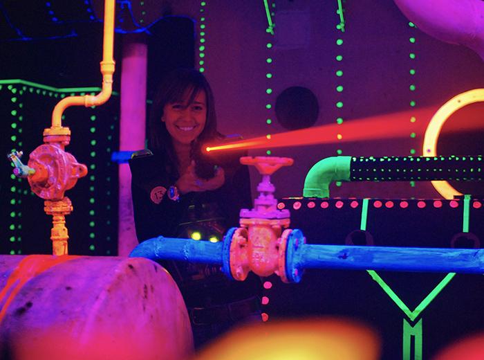 Kom lasergamen bij Lasergame Rotterdam