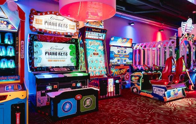 Speeltegoed voor Sir Winston Fun & Games Scheveningen