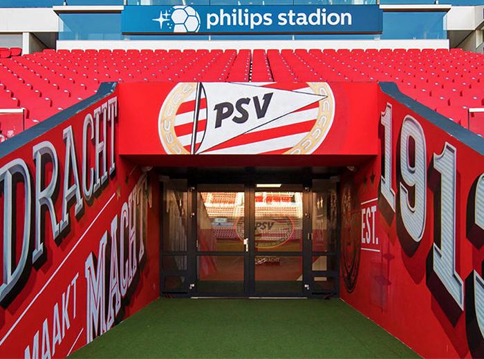 Korting Ontdek het Philips Stadion tijdens de PSV Stadiontour!