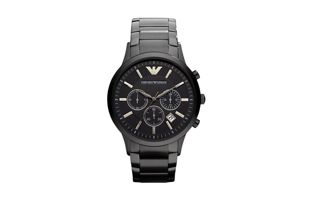 e1a042c9fd7 Zwart Armani Horloge - AR2453 met korting? - Tripper.nl