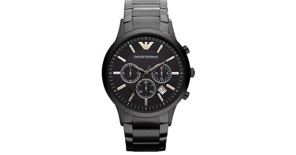 6bc4ee3b911 Zwart Armani Horloge - AR2453 met korting? - Tripper.nl