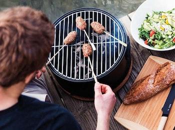 Houtskool tafelbarbecue van Berghoff