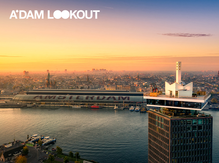 Korting Entreeticket A'DAM Lookout
