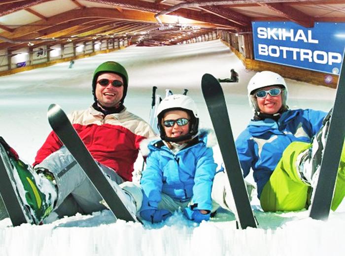 Korting All inclusive genieten bij indoorskibaan Alpincenter Bottrop