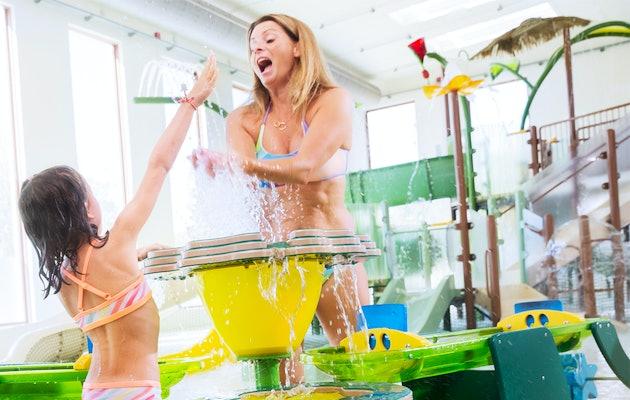 Plaisirs aquatiques pour toute la famille à Aqualibi