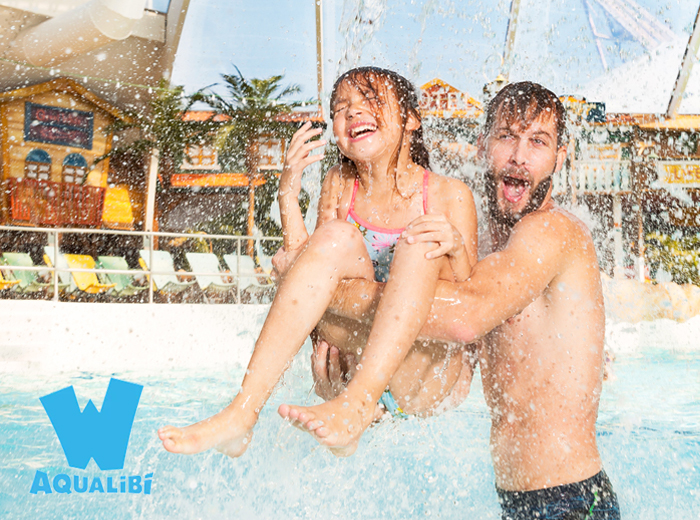 Entreeticket waterpark Aqualibi