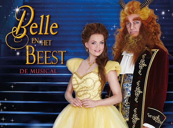 Bewonder Belle en het Beest De Musical Hoorn