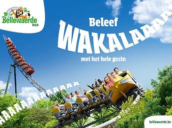 Entreeticket Bellewaerde Park