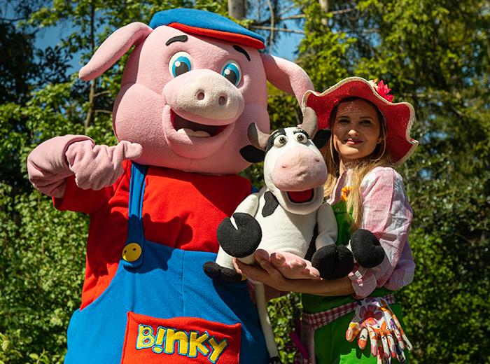 Korting Ontmoet Binky bij Kinderparadijs Malkenschoten! Apeldoorn