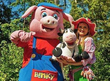 Ontmoet Binky bij Kinderparadijs Malkenschoten!