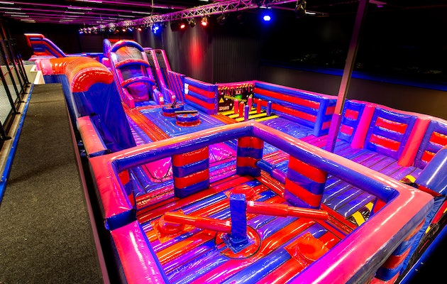 Entreeticket Bounce Valley in Capelle aan den IJssel