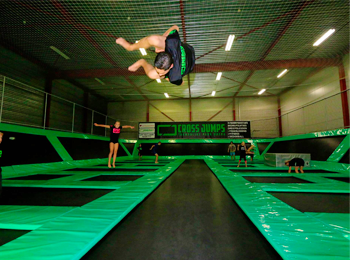 Entreeticket Cross Jumps trampolinepark