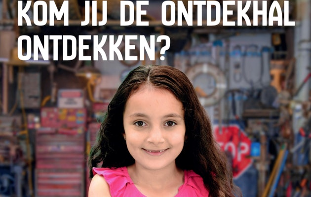 Entreeticket voor De Ontdekhal in Utrecht