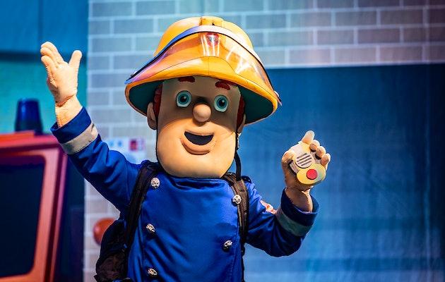 Theatervoorstelling De Verloren Piratenschat van Brandweerman Sam