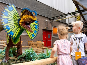 Entreeticket de Dino Fabriek in Utrecht