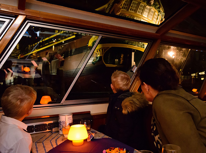 Korting Entreeticket Evening Cruise door Amsterdam Brugge