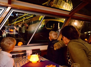 Entreeticket Evening Cruise door Amsterdam
