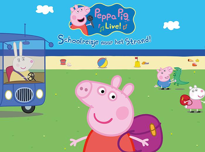 Geniet van de familievoorstelling Peppa's Schoolreisje...