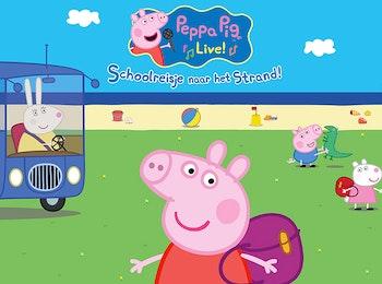 Geniet van de familievoorstelling Peppa's Schoolreisje
