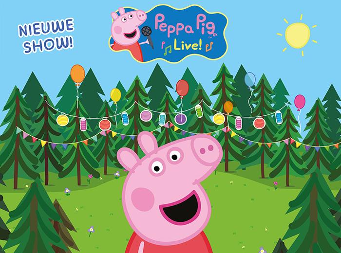Korting Geniet van de familievoorstelling Peppa's Schoolreisje Hilversum