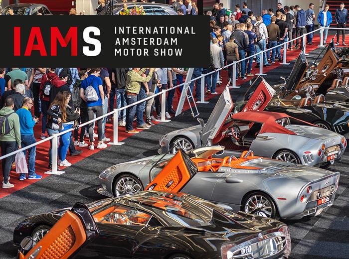 Bezoek IAMS 2020 en bewonder de mooiste auto's!