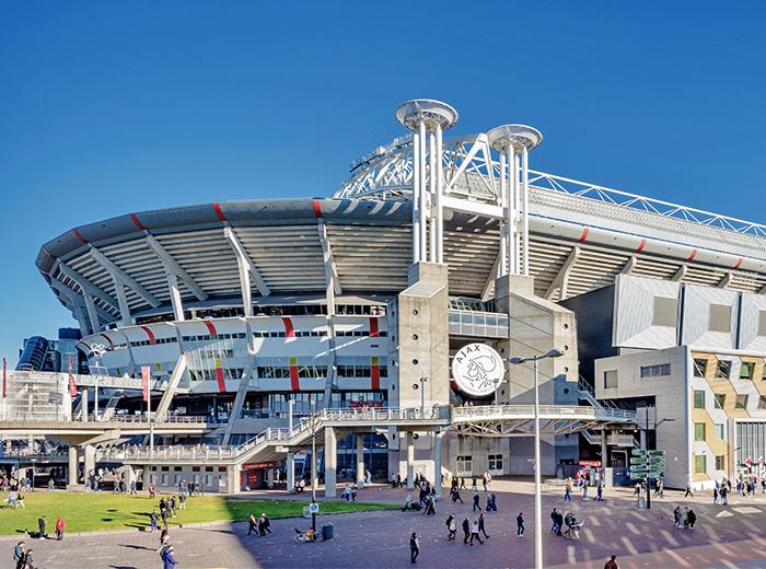Ontdek de Johan Cruijff ArenA tijdens de stadiontour! Amsterdam