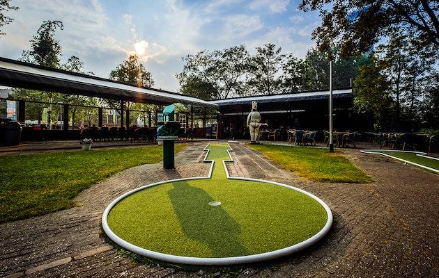 Entreeticket Midget Golfbaan Parkhaven in Rotterdam