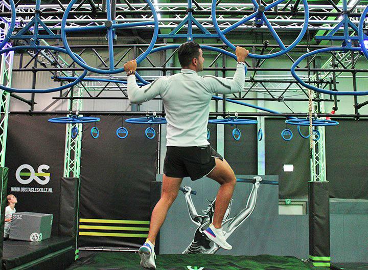Daag jezelf uit op het indoor 'Ninja Warrior' parcours van ObstacleSkillz Purmerend