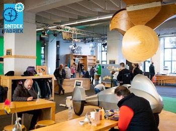 Entreeticket voor De Ontdekfabriek in Eindhoven