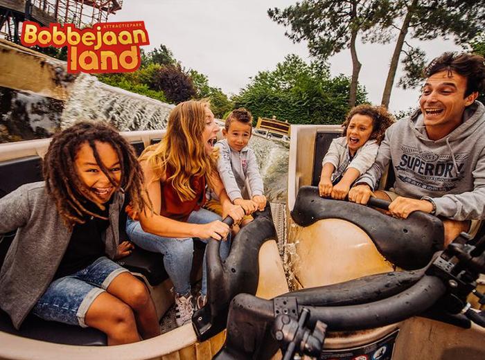 Korting Gillen, chillen en genieten in attractiepark Bobbejaanland Lichtaart