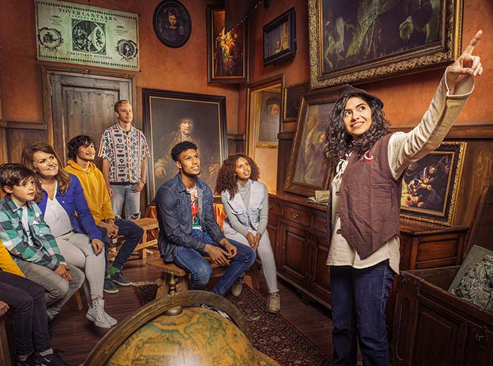 Korting Ticket Rembrandts Amsterdam Experience plus €5 shop tegoed