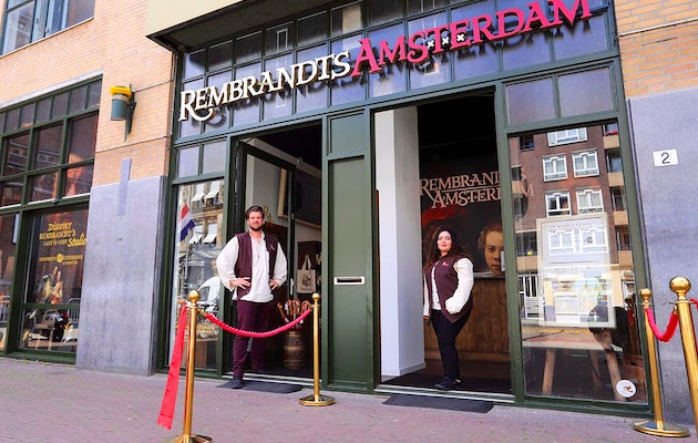 Entreeticket Rembrandts Amsterdam Experience + €5 shoptegoed