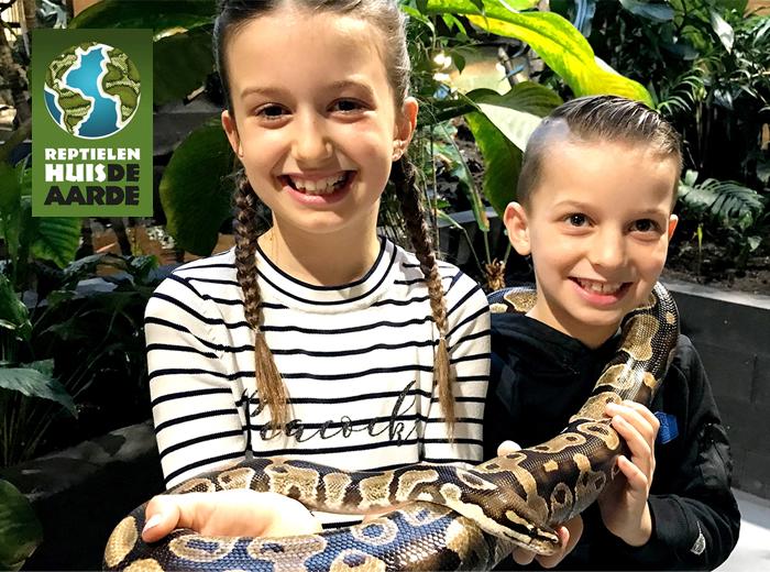 Entreeticket Reptielenhuis de Aarde in Breda
