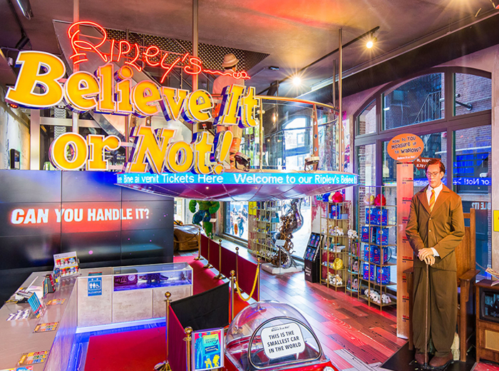 Korting Ontdek het ongelofelijke bij Ripley's Believe It or Not in Amsterdam!