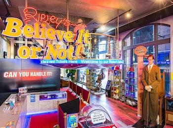 Ontdek het ongelofelijke bij Ripley's Believe It or Not in Amsterdam!