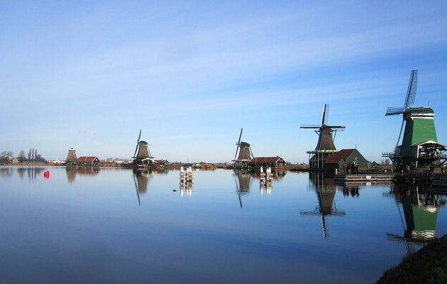 Rondvaart Amsterdam, inclusief bezoek Zaanse Schans
