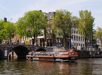 Profitez d'une croisière aux canaux à Amsterdam!